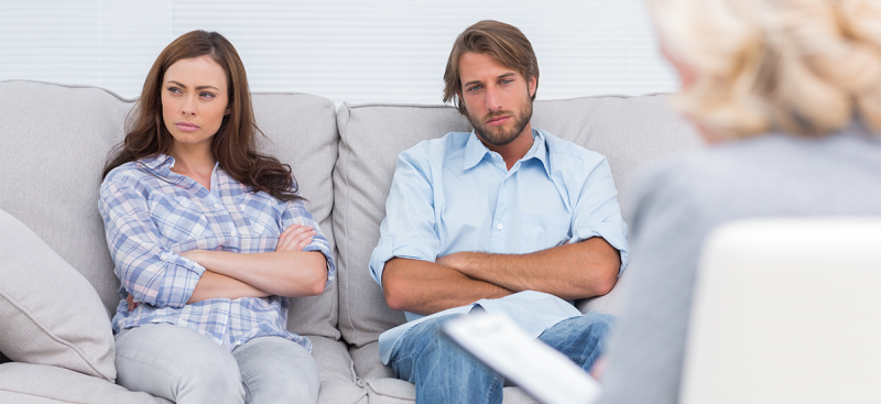 parents in therapy session